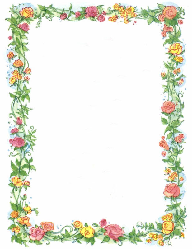 Free Mother's Day 2018 Clip Art Borders