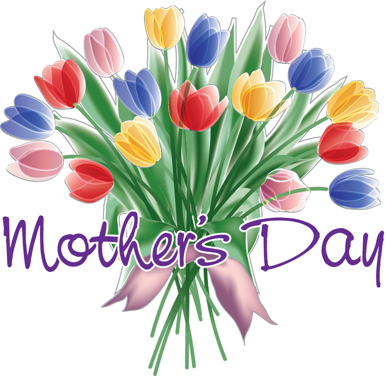 Free Mother's Day 2019 Flower Clipart to Download