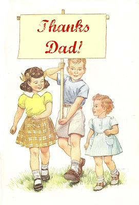 Free Vintage Father's Day Clip Art