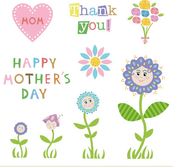 Happy Mother's Day 2017 Clip Art Pictures