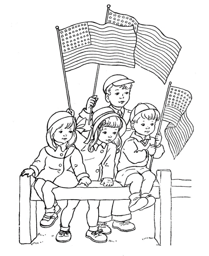 Free Independence Day Clip Art Black And White