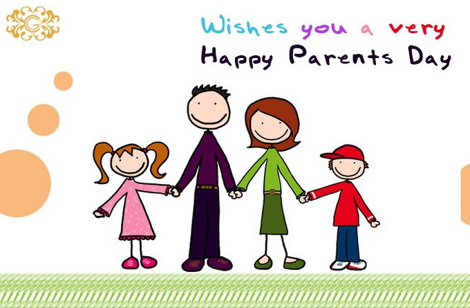 Beautiful Happy Parents' Day Images Clip Art