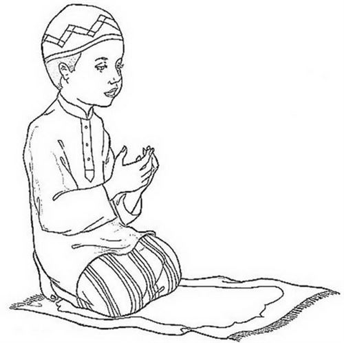 Free Ramadan Coloring Pictures For Kids