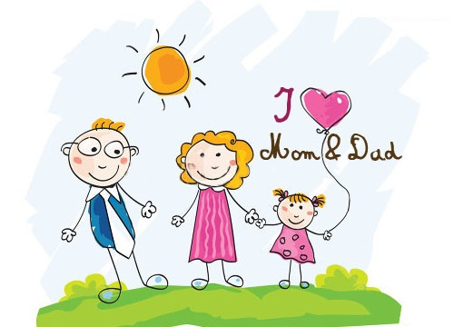 Best Happy Parents' Day Clip Art Pictures Free