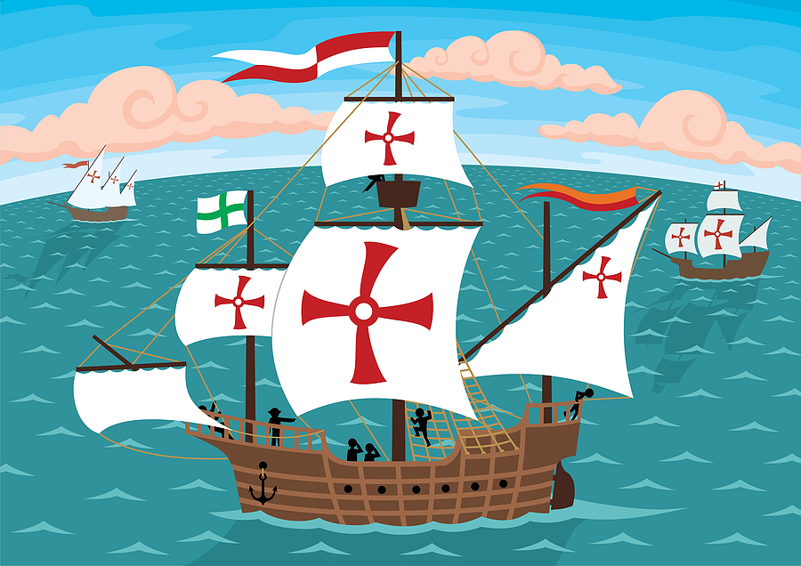 Beautiful Free Columbus Day Clip Art Pictures