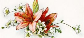 Beautiful Thanksgiving Flowers Clip Art