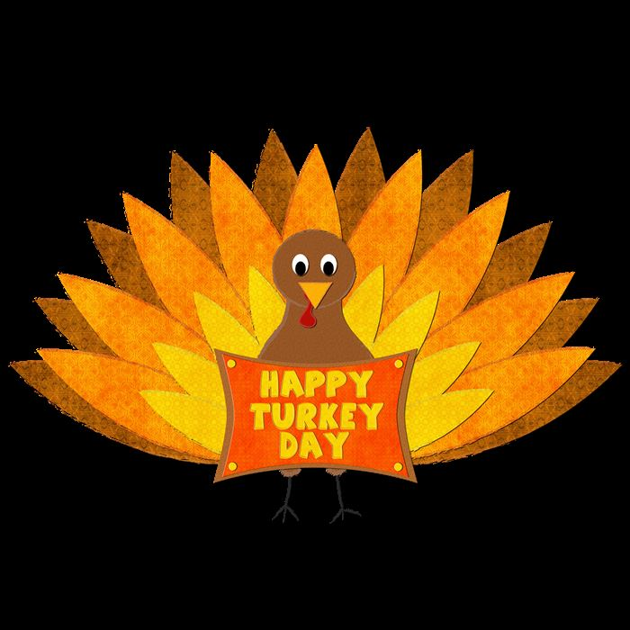 Beautiful Thanksgiving Turkeys Clipart