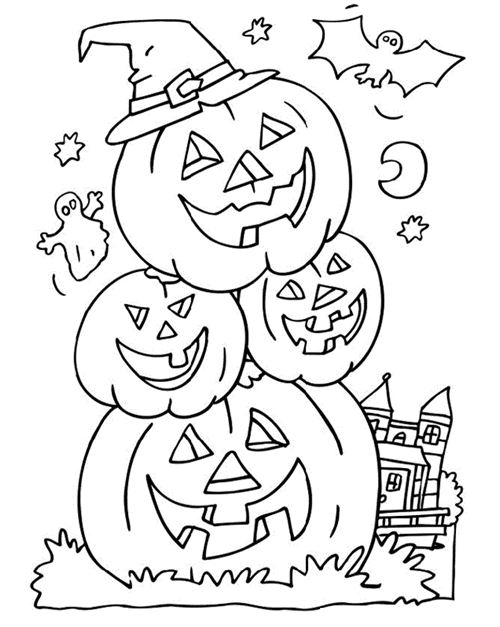 Best Halloween Coloring Pictures To Print For Free