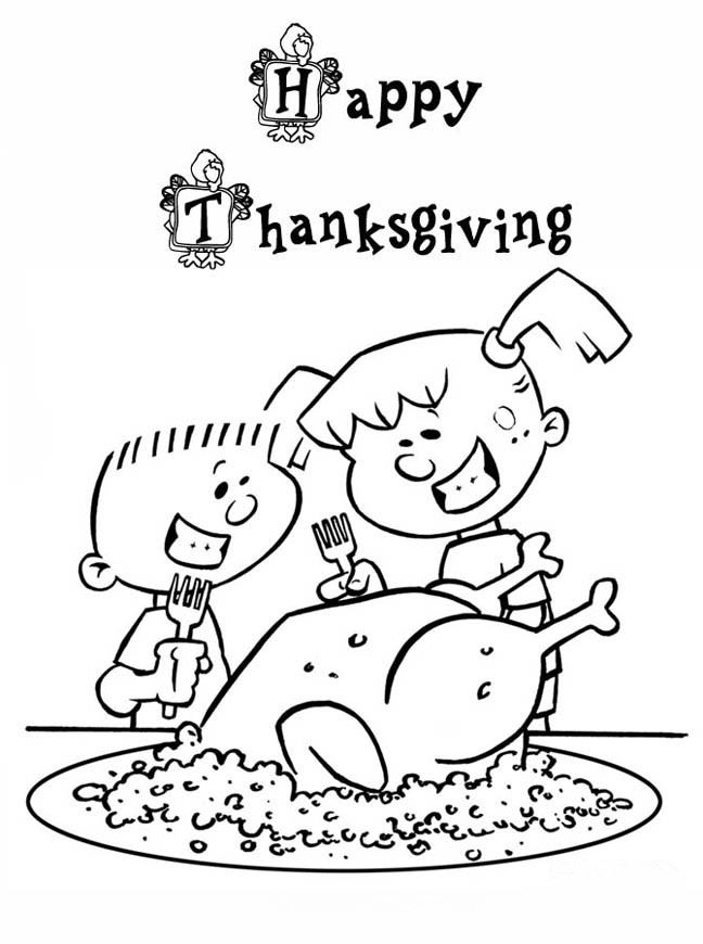Best Thanksgiving Turkey Pictures For Kids To Color