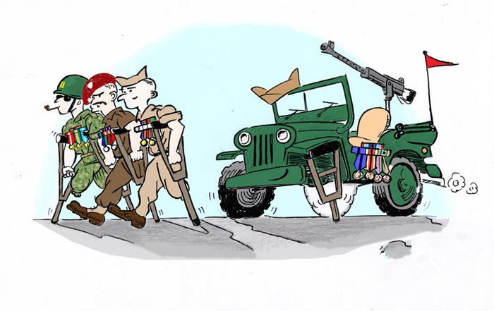 Best Veterans Day Cartoon Pictures