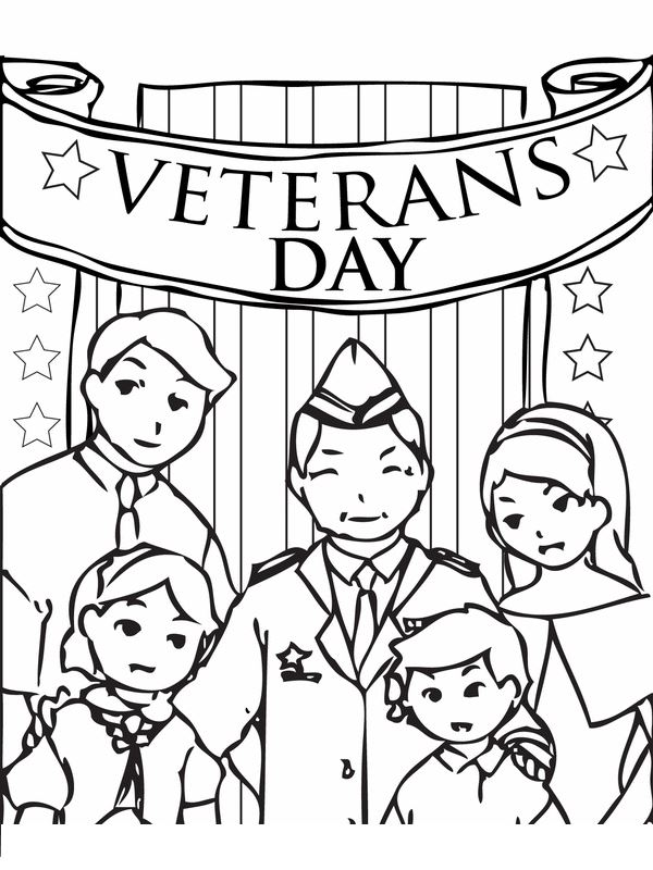 Best Veterans Day Images To Color