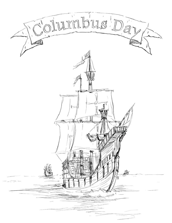 Free Columbus Day Images Clip Art