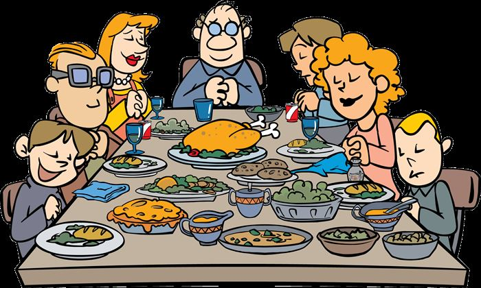 Free Thanksgiving Cartoons On Clipart