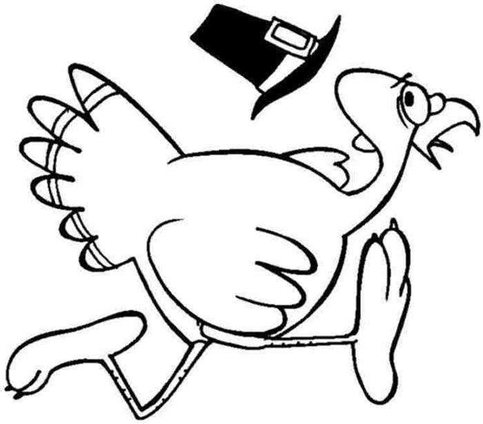 Free Thanksgiving Coloring Pictures For Kindergarten