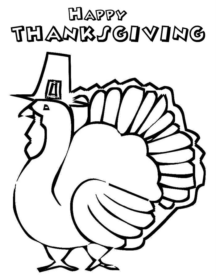 Free Thanksgiving Turkey Pictures To Print And Color