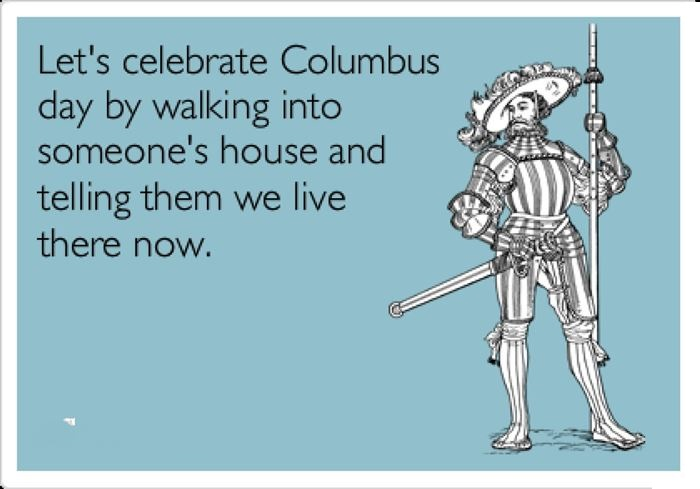 Funny Columbus Day Images