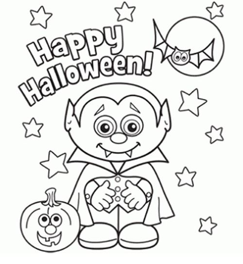 Top Free Halloween Pictures To Print And Color
