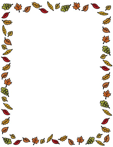 Top Free Thanksgiving Clip Art Borders