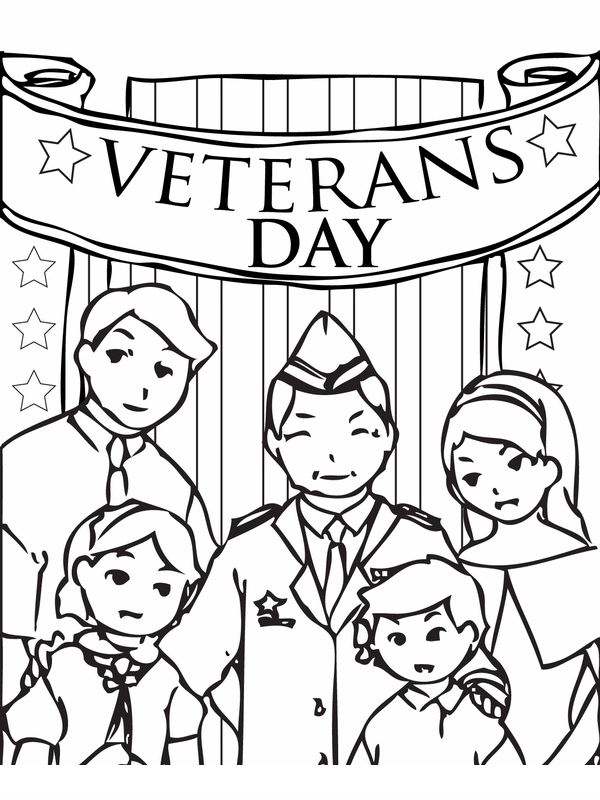 Top Free Veterans Day Pictures To Color