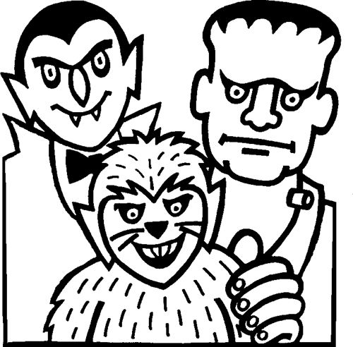 Top Halloween Images Free Coloring Pages