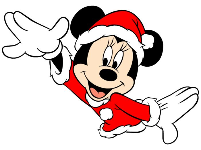 Cute Mickey Mouse Happy New Year Clip Art