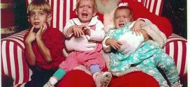 Beautiful Santa Claus Pictures With Crying Kids