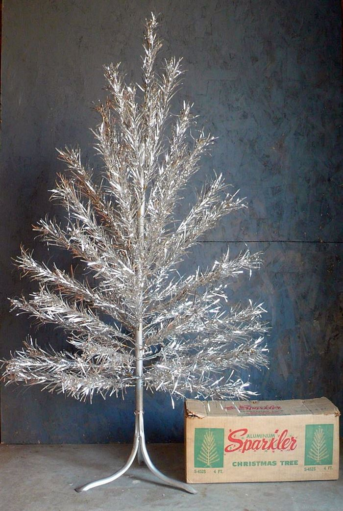 Beautiful Vintage Aluminum Christmas Tree Images