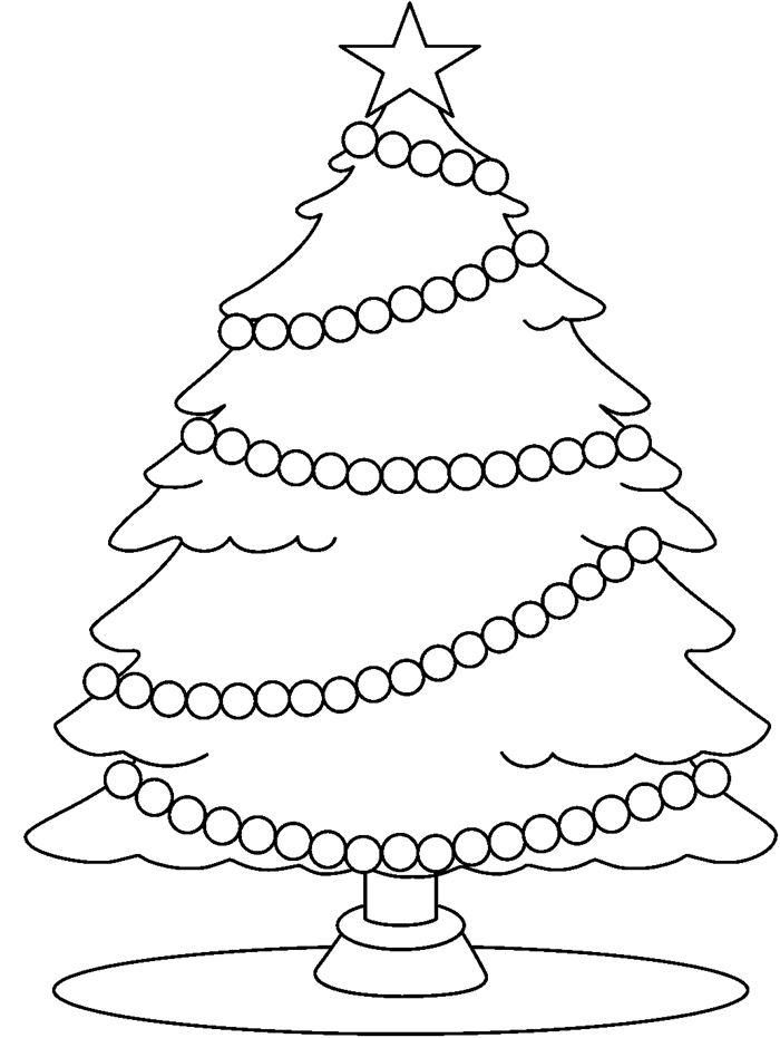Best Christmas Tree Images Black And White
