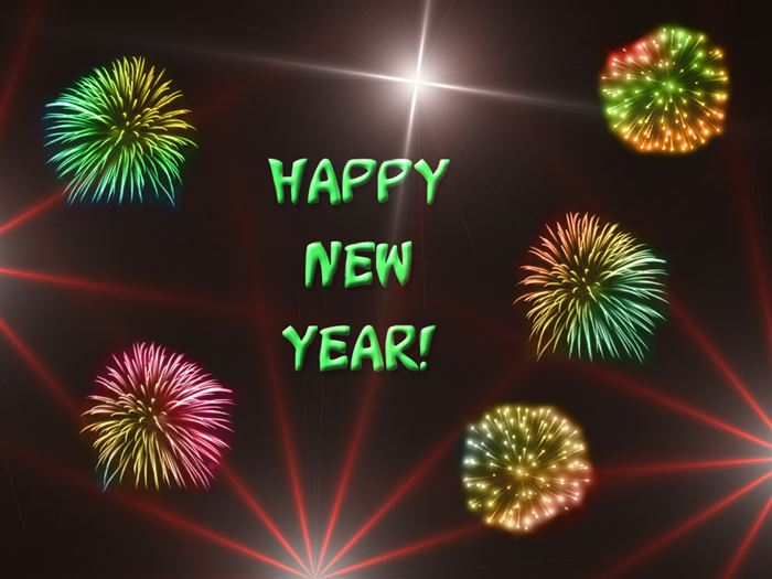 Beautiful Free Christian Happy New Year Clip Art