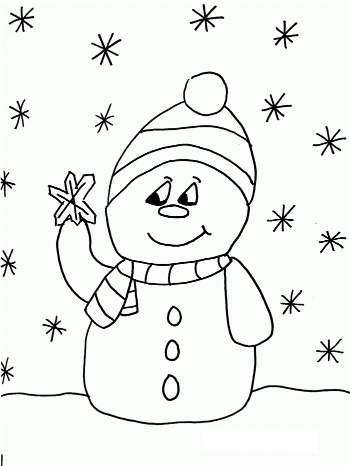 Best Free Christmas Pictures To Color