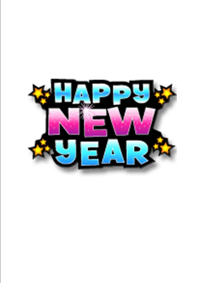 Best Free Happy New Year Clipart