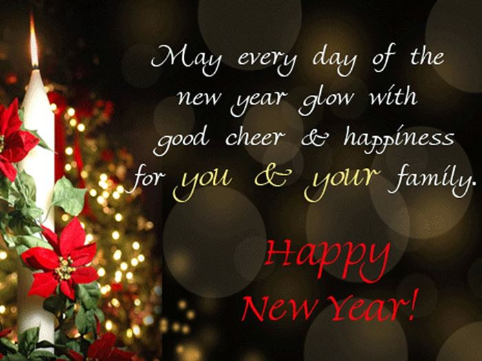 Unique Free Happy New Year Greeting Cards Images
