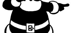Free Santa Claus Clip Art Images Black And White
