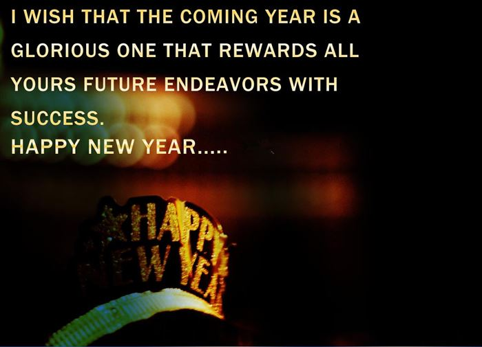 Beautiful Happy New Year Card Images With Quotes