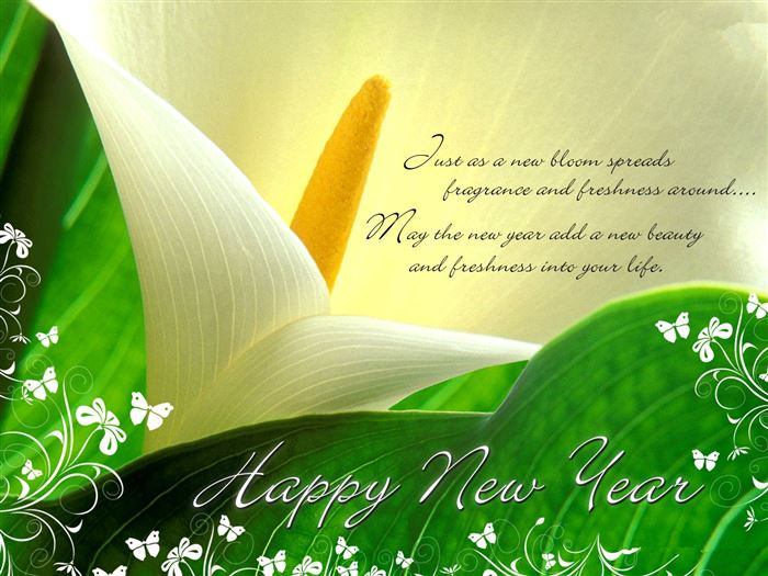 Beautiful Happy New Year Wishes Greetings Photos