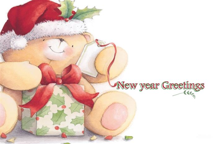 Beautiful Happy New Year Cartoon Images