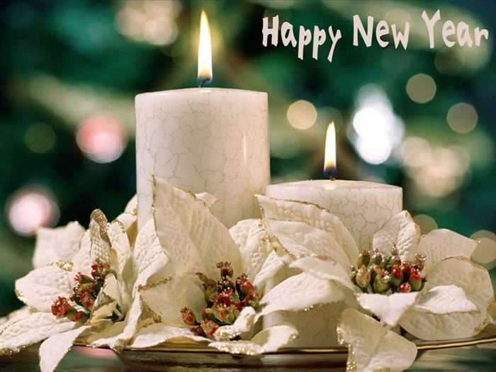 Beautiful New Year Glittering Ecards For Facebook