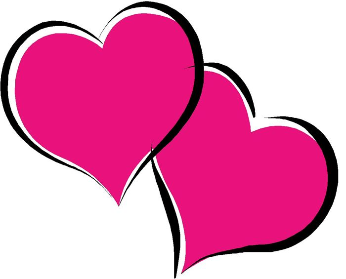 Free Cute Valentine's Day Hearts Clip Art