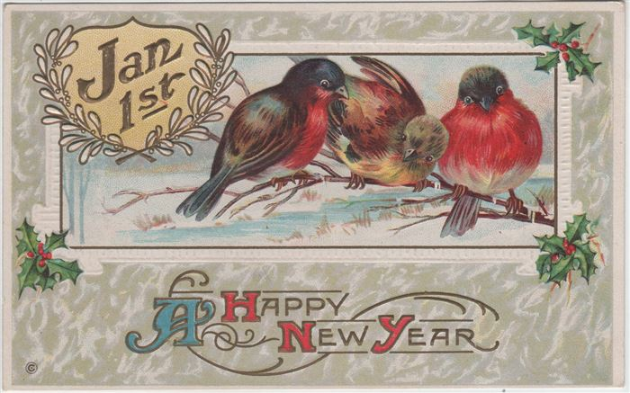 Beautiful Happy New Year Christian Post Cards Pictures
