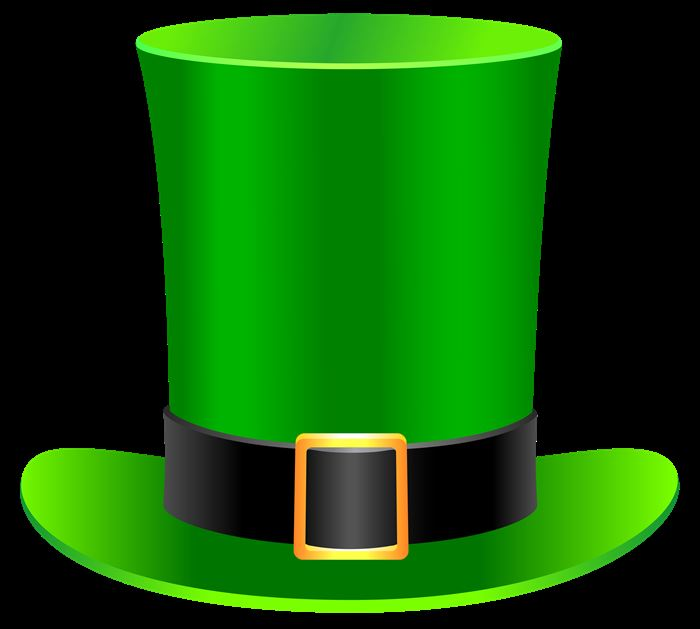 Best St. Patrick's Day Hats Clipart Free