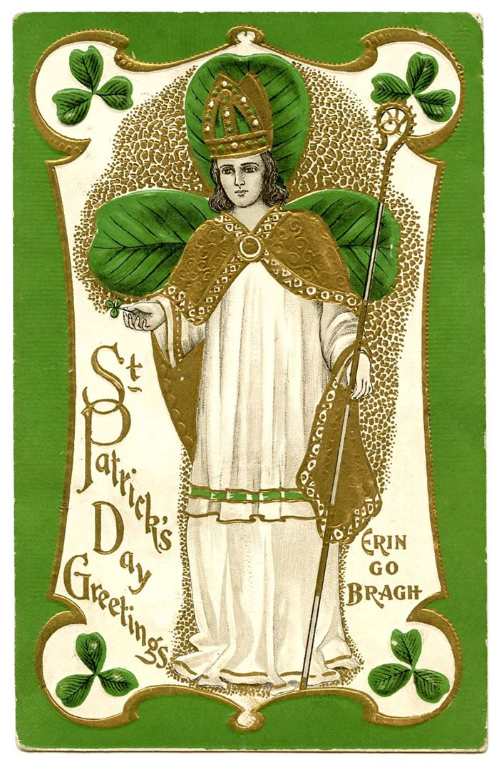 Beautiful Vintage St Patrick's Day Images