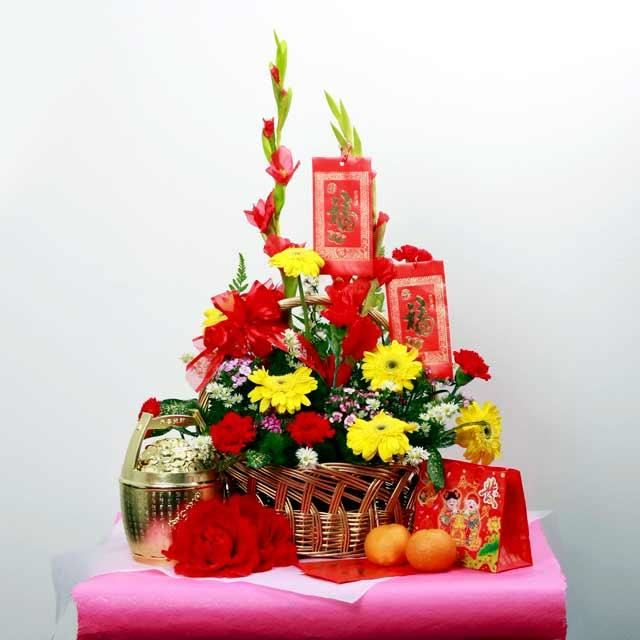 Beautiful Chinese New Year Flower Arrangement Images