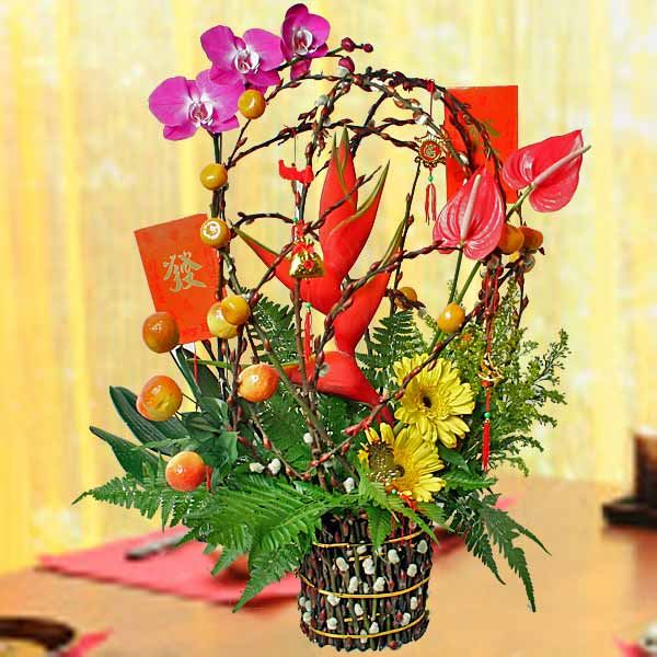Unique Chinese New Year Flower Arrangement Images