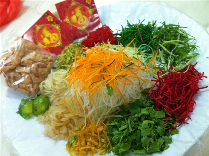 Beautiful Chinese New Year Traditional Foods Pictures
