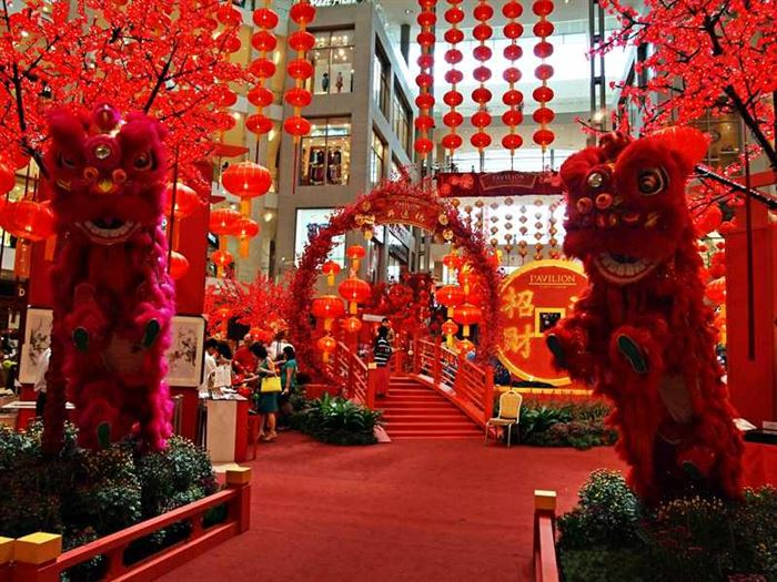 Beautiful Pictures Of Chinese New Year Decorations