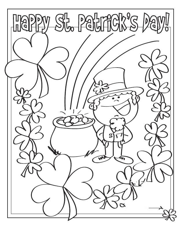 Free Printable St. Patrick's Day Pictures