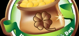 Free Beautiful Happy St. Patrick's Day Clip Art
