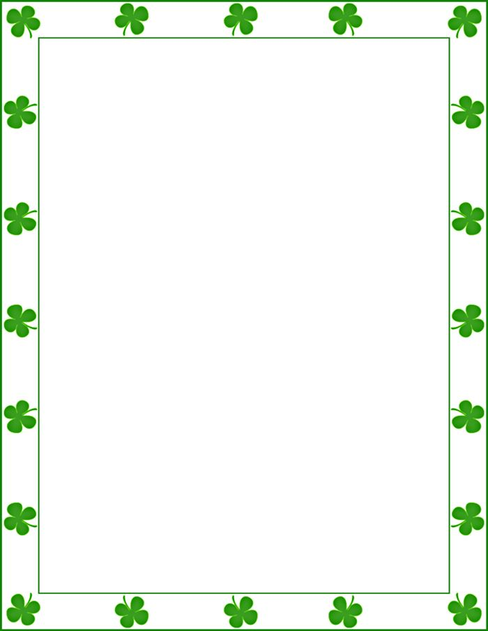 Best Free St. Patrick's Day Clip Art Frames