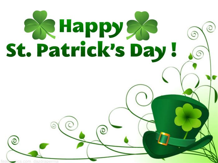 Unique St. Patrick's Day Clip Art Frames