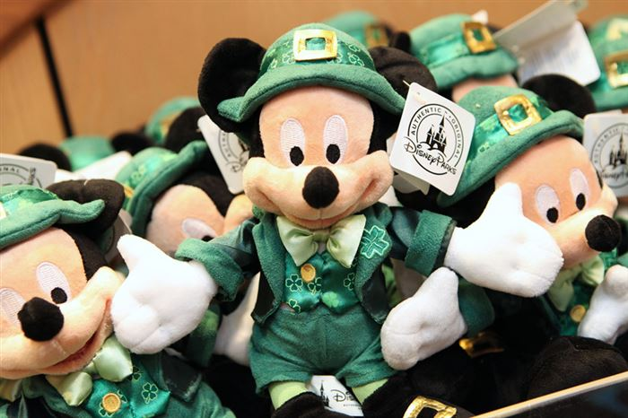 Beautiful Disney St. Patrick's Day Images